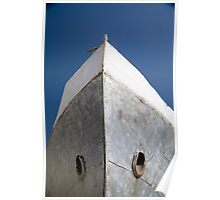 Aral Sea boat bow Poster