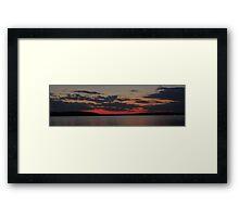 SunSet on Lake D'Arbonne Framed Print