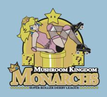 The Mushroom Kingdom Monarchs T-Shirt