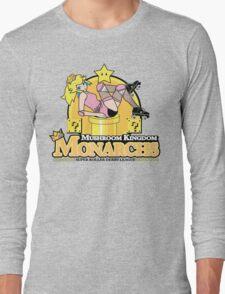The Mushroom Kingdom Monarchs Long Sleeve T-Shirt