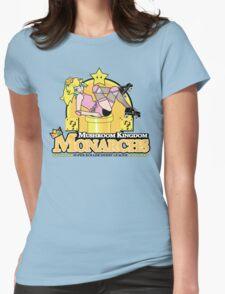 The Mushroom Kingdom Monarchs Womens Fitted T-Shirt