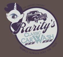 Rarity's Classic Car Wash Baby Tee