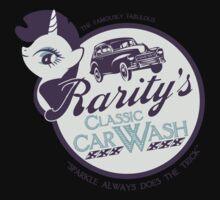 Rarity's Classic Car Wash Kids Tee