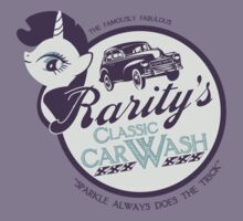 Rarity's Classic Car Wash Kids Tee