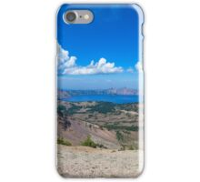 LOOKING DOWN INTO THE BLUE iPhone Case/Skin