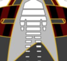 Starfleet Hazard Team Updated Logo Sticker