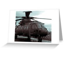 Merlin Helicopter Greeting Card