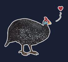Guinea Fowl love One Piece - Short Sleeve