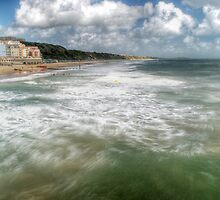 Boscombe Beach by Chris Day