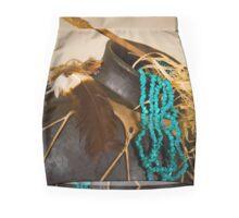 Southwest Feel Mini Skirt