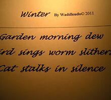 Morning Haiku by waddleudo
