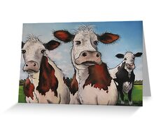 Til the cows come home.... Greeting Card