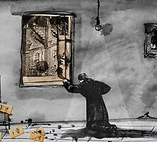 a writers demise by Loui  Jover