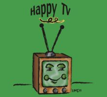 Happy TV~(C) Kids Tee
