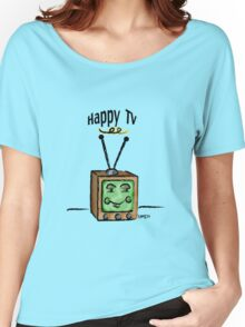Happy TV~(C) Women's Relaxed Fit T-Shirt