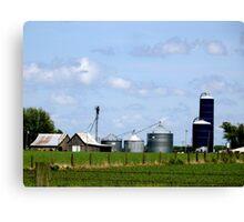 Iowa Farmlands Canvas Print