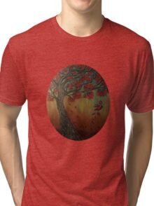 Blowing in the  wind Tri-blend T-Shirt