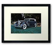 1935 Packard Convertible Sedan Framed Print