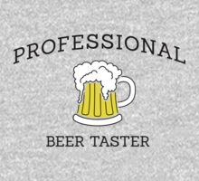 Professional beer taster by Stock Image Folio