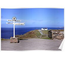 The Iconic Land's End Poster