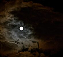 FULL MOON 1 by Linda Bianic