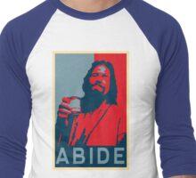ABIDE Men's Baseball ¾ T-Shirt