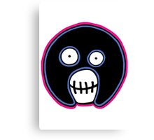 The Mighty Boosh –  Blue & Pink Mask Canvas Print