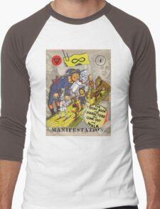 Manifestation - from The Marvelous Oracle of Oz Men's Baseball ¾ T-Shirt