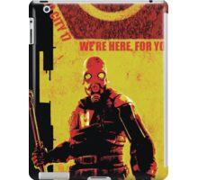 Half Life Metro Police Propaganda  iPad Case/Skin