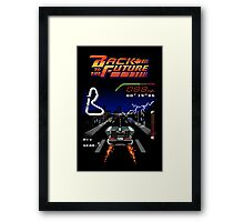 Back to the Future! Framed Print