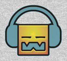Geometry Dash headphones Kids Tee