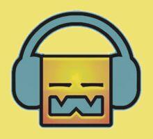 Geometry Dash headphones One Piece - Short Sleeve