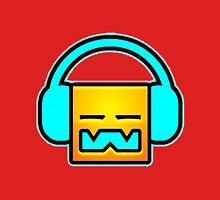 Geometry Dash headphones Unisex T-Shirt
