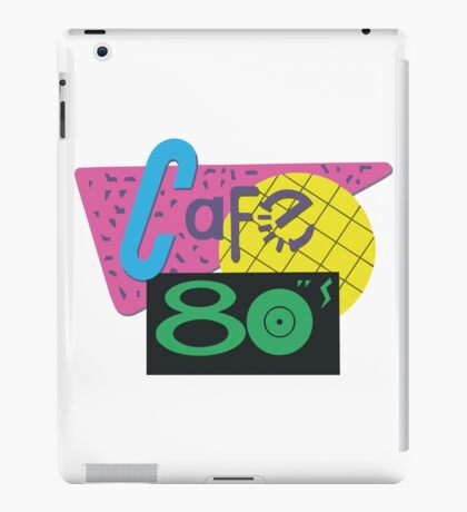Cafe 80s – Back To The Future II, Marty McFly, Pepsi Perfect iPad Case/Skin