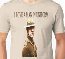 I Love A Man In Uniform Unisex T-Shirt