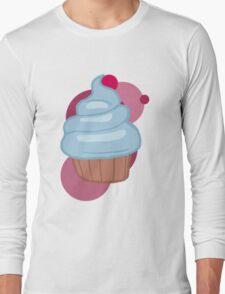 Pinkamina's cupcake Long Sleeve T-Shirt
