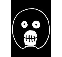 The Mighty Boosh – Black Mask Photographic Print