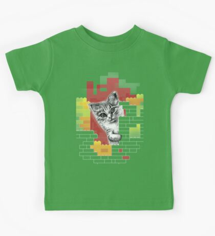 Play Cat Kids Tee