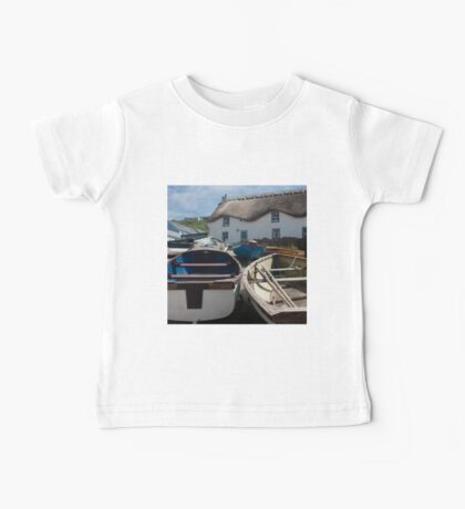 Tinker Taylor Cottage Sennen Cove Cornwall Baby Tee