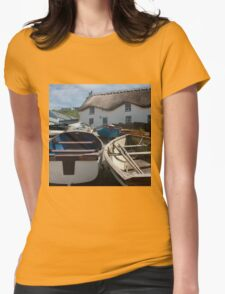 Tinker Taylor Cottage Sennen Cove Cornwall Womens Fitted T-Shirt