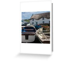 Tinker Taylor Cottage Sennen Cove Cornwall Greeting Card