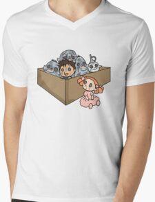 A Box of Trolls Mens V-Neck T-Shirt