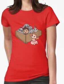 A Box of Trolls Womens Fitted T-Shirt