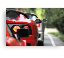 Yes, Ferrari's do have EYES on the back of their heads! Canvas Print
