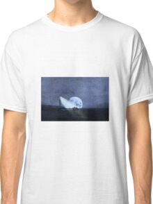 Across The Sea A Pale Moon Rises Classic T-Shirt