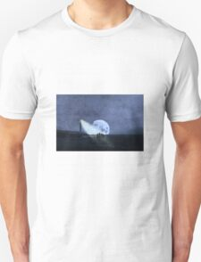 Across The Sea A Pale Moon Rises Unisex T-Shirt