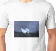 Across The Sea A Pale Moon Rises Unisex T-Shirt
