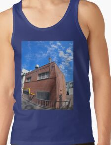 Boiler house with a gas pipe Tank Top