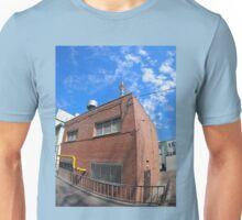 Boiler house with a gas pipe Unisex T-Shirt