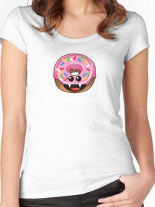 NOM NOM! Women's Fitted Scoop T-Shirt